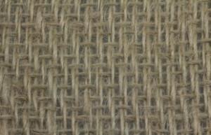 Dekogewebe aus Jute (Köperbindung 300 g/m²)