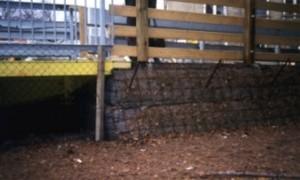 Einsatz von OBEG bei einer Behelfsbrücke