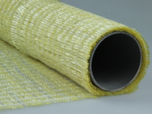 Dekogitter aus Kunststoff (PP) GELB