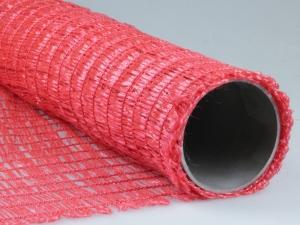 Dekogitter aus Kunststoff (PP) ROT