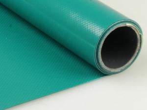 Dekofolie aus Kunststoff in smaragdgrün