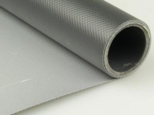 Dekofolie aus Kunststoff in silber / schwarz